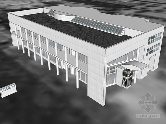 V-ZUG_AG办公建筑SketchUp模型下载