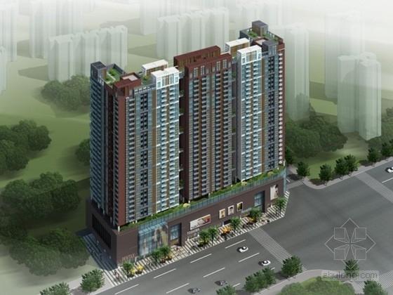 [深圳]某三十层商业综合楼设计方案文本(含CAD)