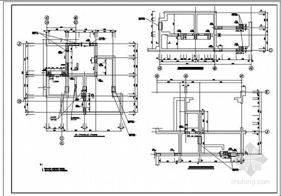 地下车库人防结构施工图