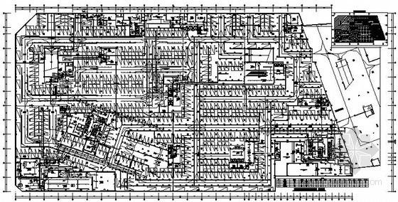 某广场大型商业综合楼电气施工图纸118张(含地下室、商业裙房、住宅塔楼)