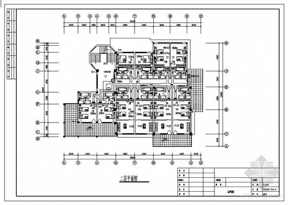 旅馆空调施工图