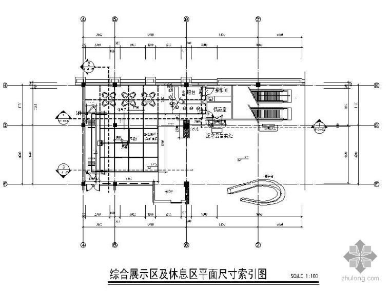 [辽宁]城市规划展示馆装饰设计图_1