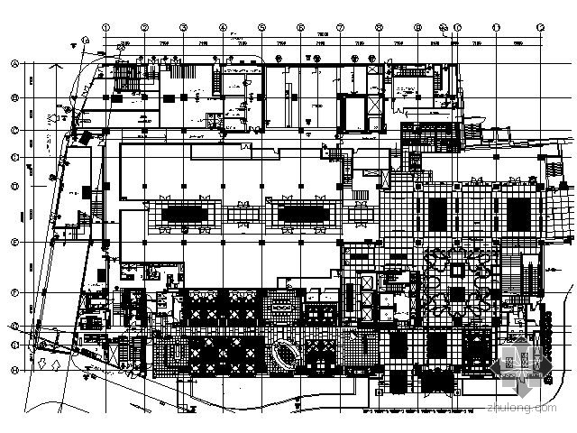 [北京]知名五星级酒店部分施工图