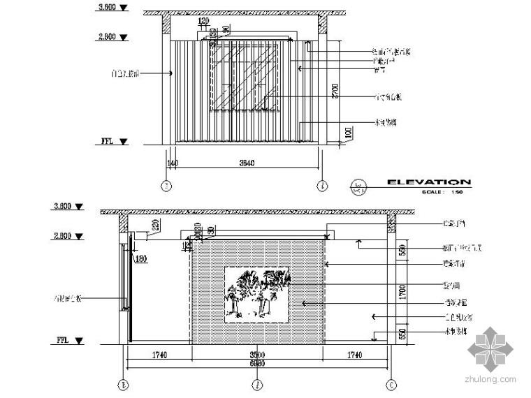 [苏州]某工商分局旧楼改造装修图_2