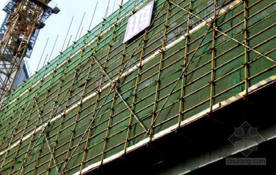 建筑工程脚手架工程施工技术指导培训(21页 附图)