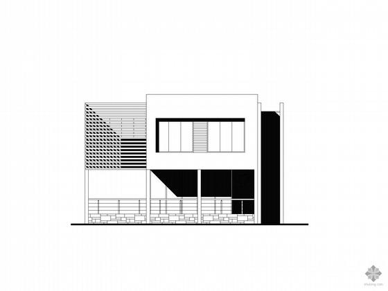 两套二层别墅方案图(带效果图)