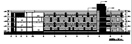 高层现代风格无锡惠山学校规划方案及建筑施工图(方案及施工图全
