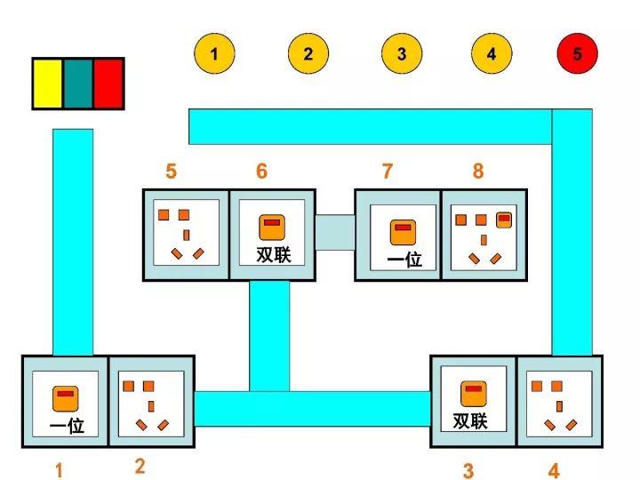 电工技能基本线路图全解,合格电工必看!_12
