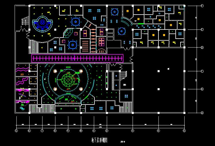 300多套CAD装修施工图纸(家装,工装,节点等)_5