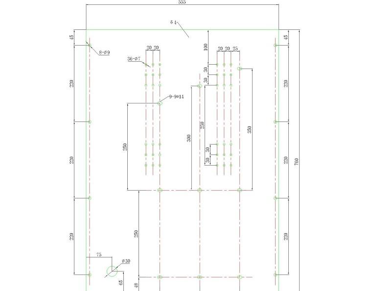SMC新材料配电柜结构图