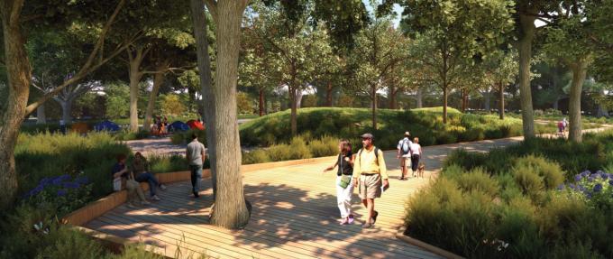 [山东]海滨生态城市地标黄金海岸景观规划设计方案_8