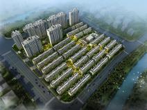 [上海]上海金地世家居住区模型设计(新古典风格设计)