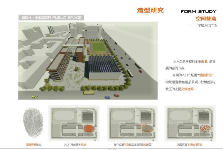 临港新城小学幼儿园方案设计文本(75页)-空间营造