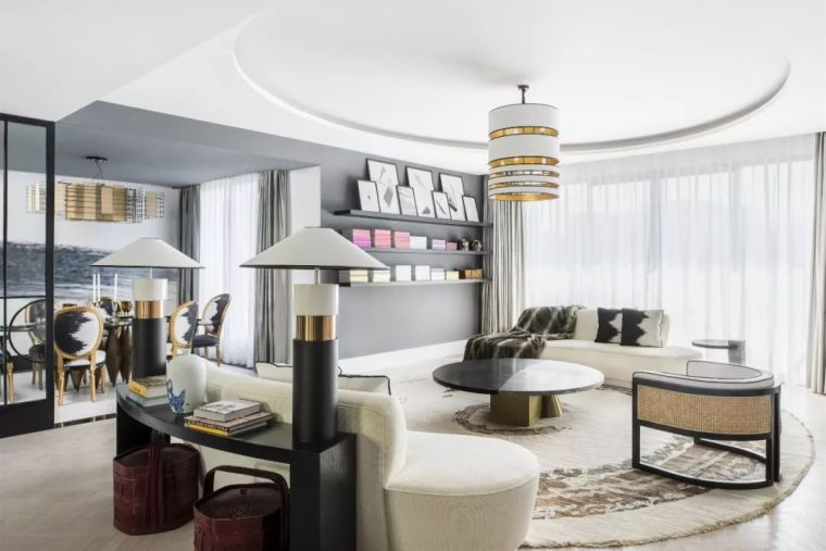 跃层都市公寓融入4种风格后,竟然如此惊艳!_12