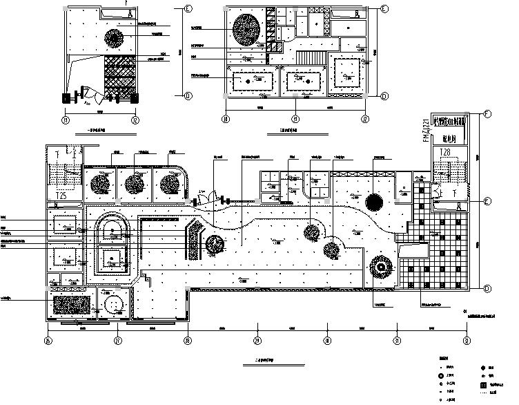 30套咖啡厅西餐厅设计方案CAD图纸_1