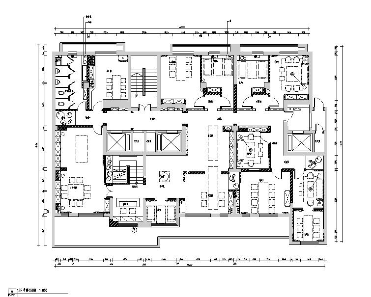 [新疆]禅意空间 合一茶道休闲会所设计施工图(附效果图)