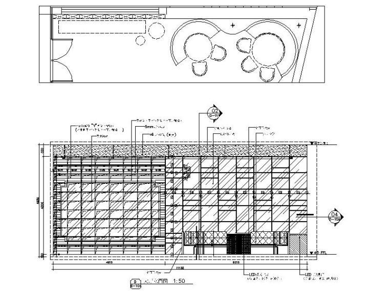 [新疆]富有文化气息而又时尚鲜活的餐厅设计施工图(含效果图)_8