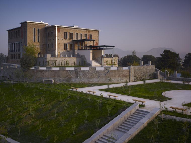 喀布尔Chihilsitoon花园