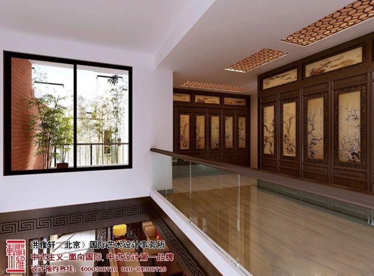 镇江现代别墅装修设计,古典高雅具备小清新格调_3