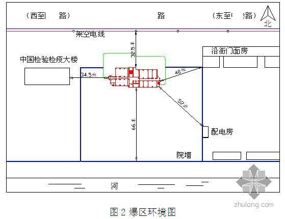 江苏某高层办公楼爆破拆除爆破施工方案