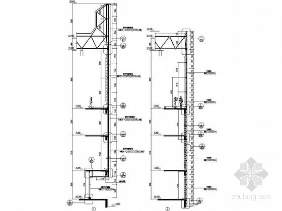 [成都]四层科技创业园综合楼幕墙施工图
