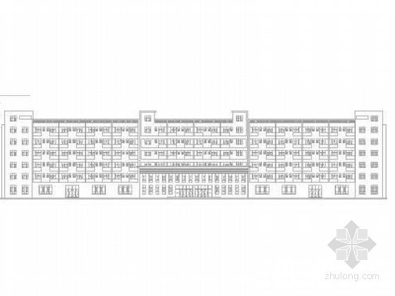[江苏]3层现代风格科技厂区建筑设计施工图(含效果图)