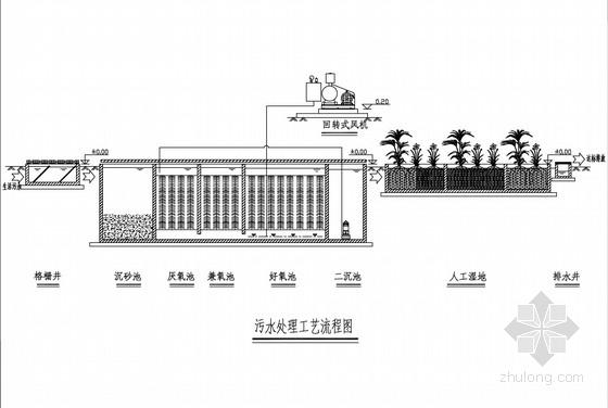 [pdf]农村生活污水收集和处理工程施工图(25张)