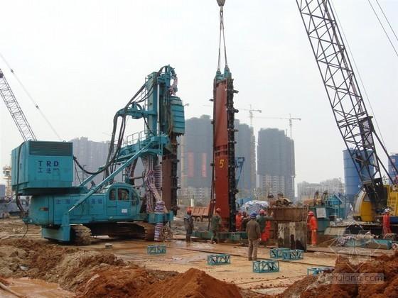[天津]21米深基坑TRD工法墙止水帷幕专项施工方案