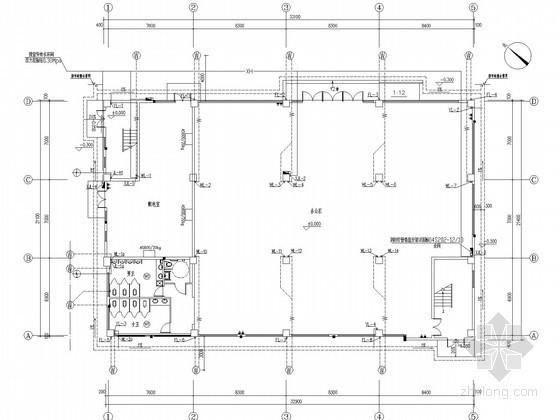 [福建]汽车4S店及办公楼给排水消防施工图