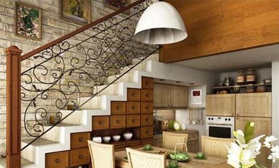 复式阁楼楼梯装修