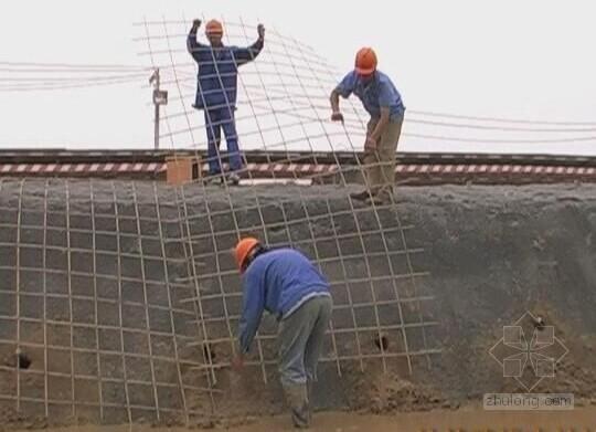 竹筋喷锚边坡支护施工工法申报材料(省级工法)
