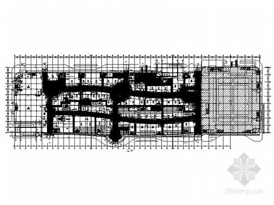 国内某大型高端商城装饰工程施工图