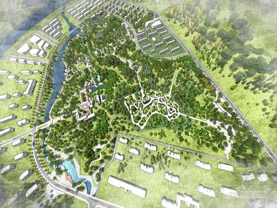 某悠闲宜居城市景观设计方案