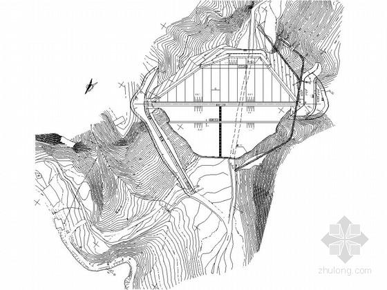 [陕西]小(一)型水库面板堆石坝工程施工图
