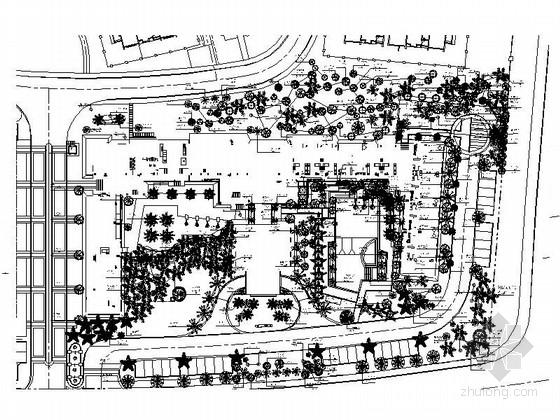 [三亚]旅游度假区酒店景观设计施工图