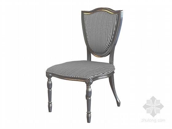 欧式时尚椅子3D模型下载