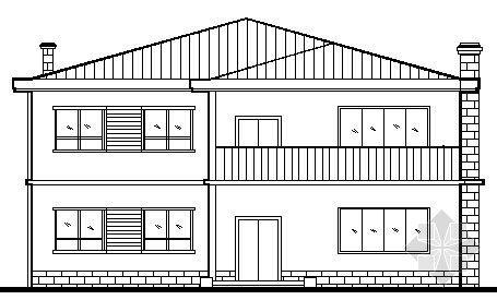 小型别墅建筑施工图纸