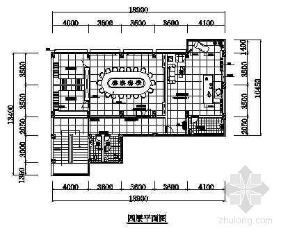 某办公楼平面布置图