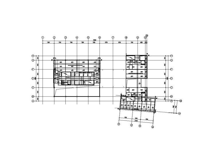 [上海]国际办公设计中心结构施工图(框架结构)