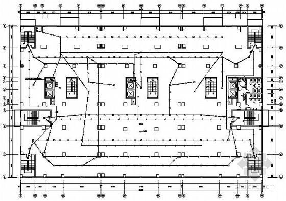 十六层商住楼宇电气施工图纸
