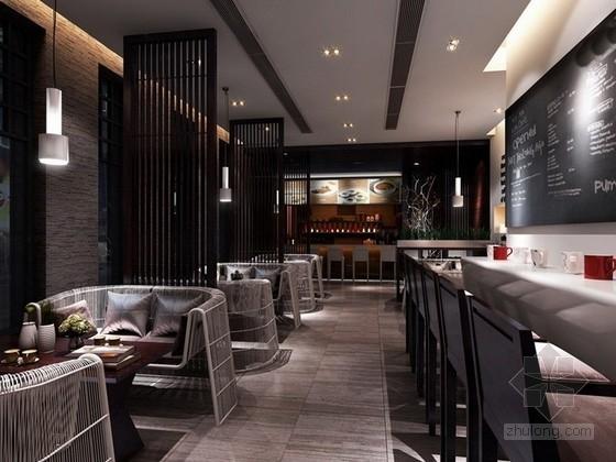 [缅甸]某日本餐厅室内外设计概念方案