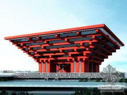 [上海世博会]世博会中国馆平面图效果图
