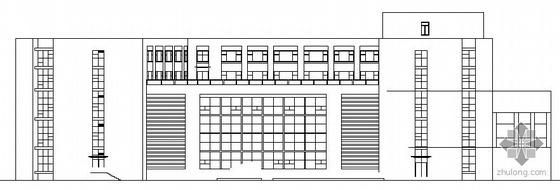 哈尔滨某五层投资大厦建筑施工图
