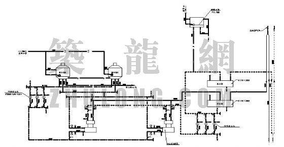中央空调水系统流程图