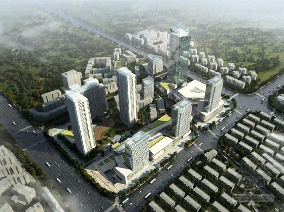 [武汉]城市综合体规划及单体设计方案文本(两个方案)