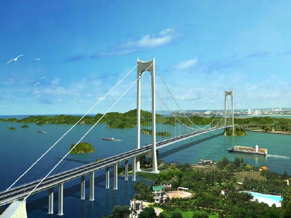 中交设计广西龙门大桥主桥初步设计说明及图纸385页