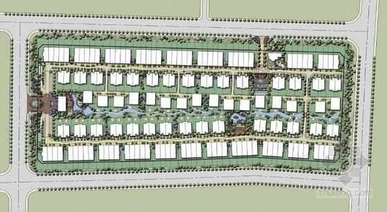 [唐山]瑞士风情小镇别墅景观概念设计方案