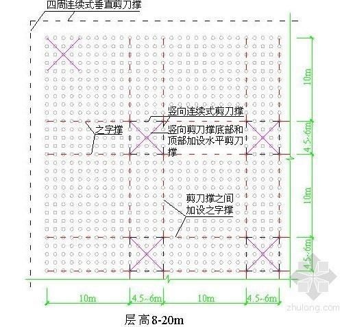 [陕西]框架结构办公楼大堂高支模施工方案(含计算书)