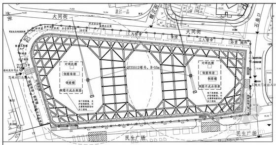 [广西]19米深基坑地下连续墙加三道混凝土内支撑支护施工组织设计