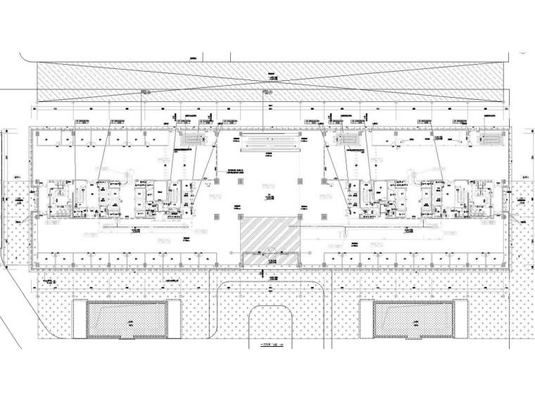 [江苏]高层文化广场通风及防排烟系统设计施工图